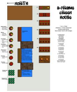 A-Frame Greenhouse Plan 2008 (pdf)
