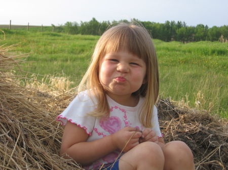 My Little Girl Sittin' on the Hay