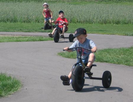 The Jungle Farm Train Tricycle Track