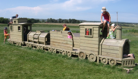 The Jungle Farm Train