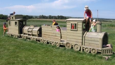 The Jungle Farm Train