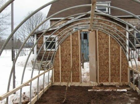 Nova Scotia Hoop-Frame Greenhouse